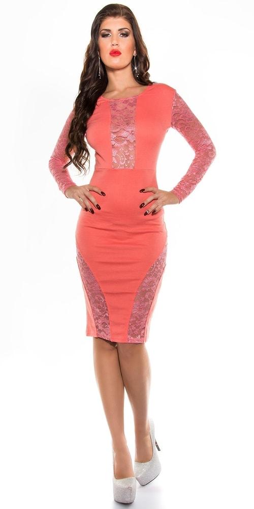 Elegantné dámske šaty - 40 Koucla in-sat1285ko