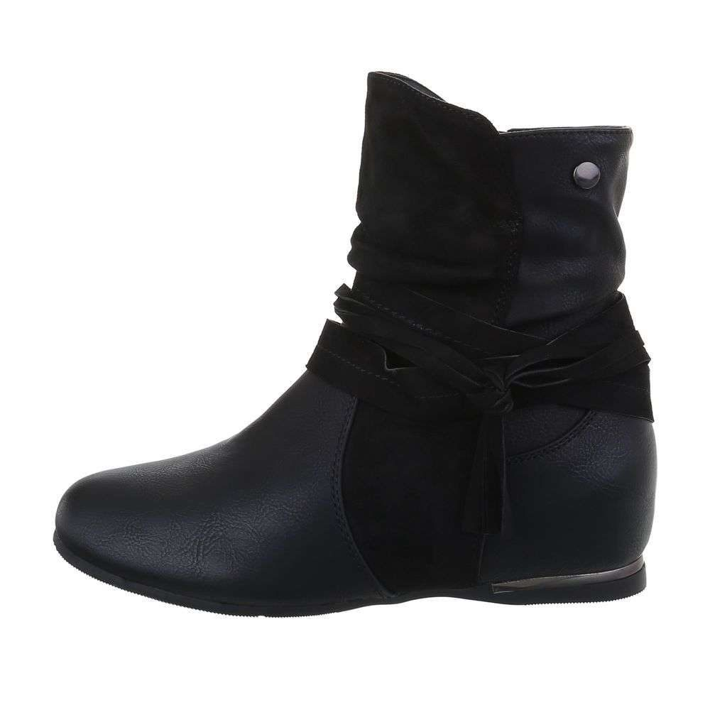 Čierne dámske čižmy - 36 EU shd-oko1183bl