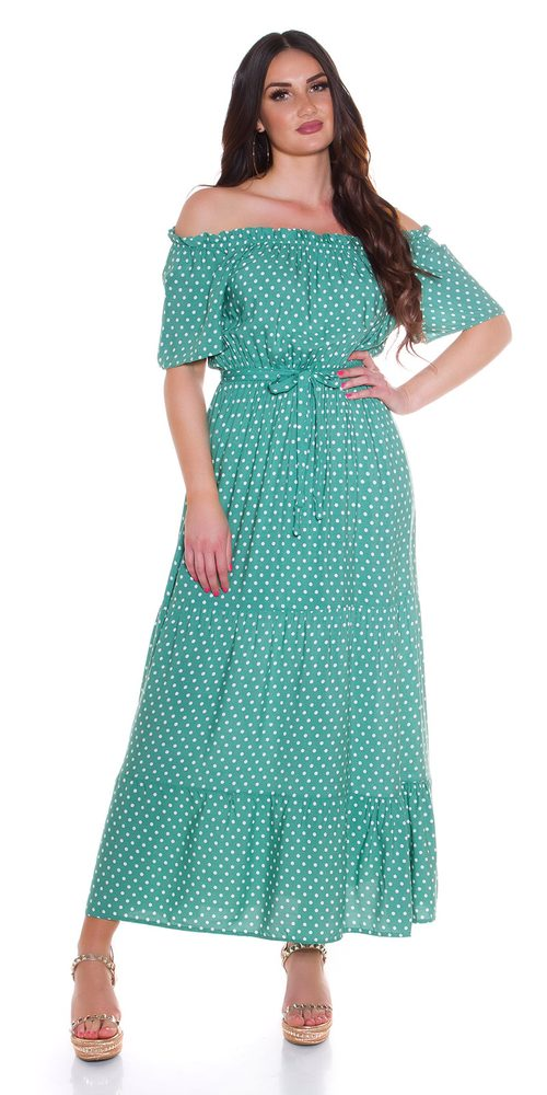 Letní dlouhé šaty - S/M Koucla in-sat2280ze
