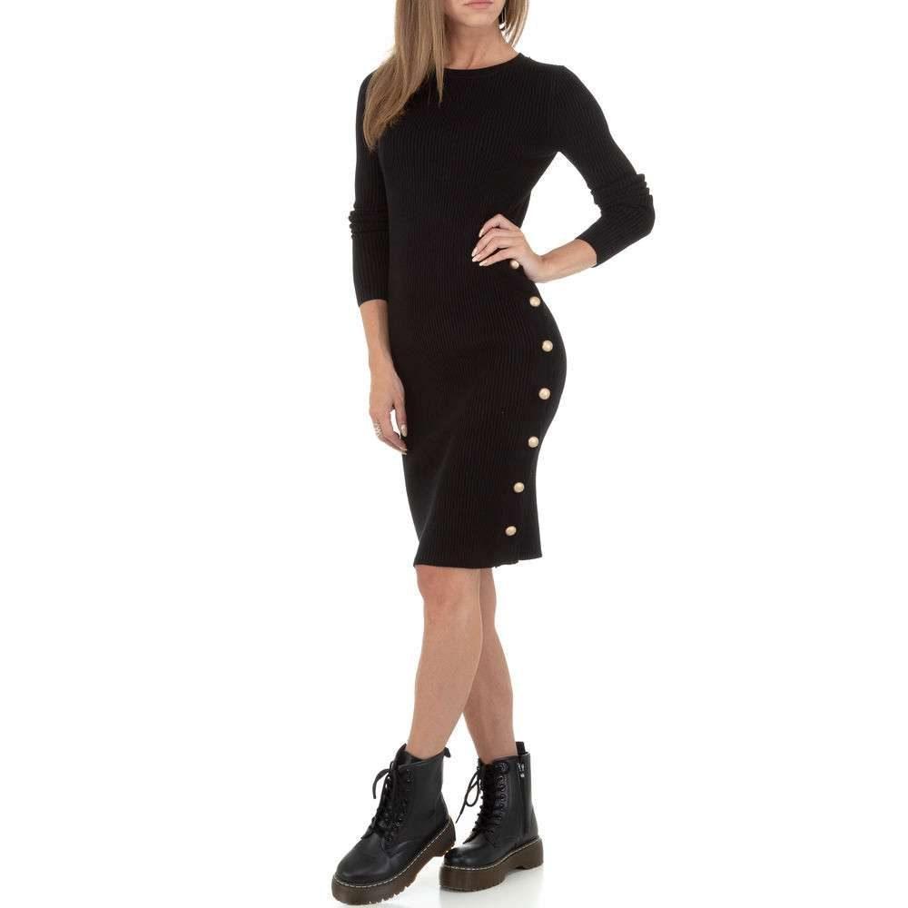 Dámské úpletové šaty - S/M EU shd-sat1242bl