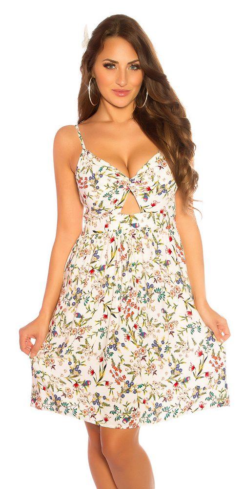 Letní dámské šaty Koucla in-sat2190wh