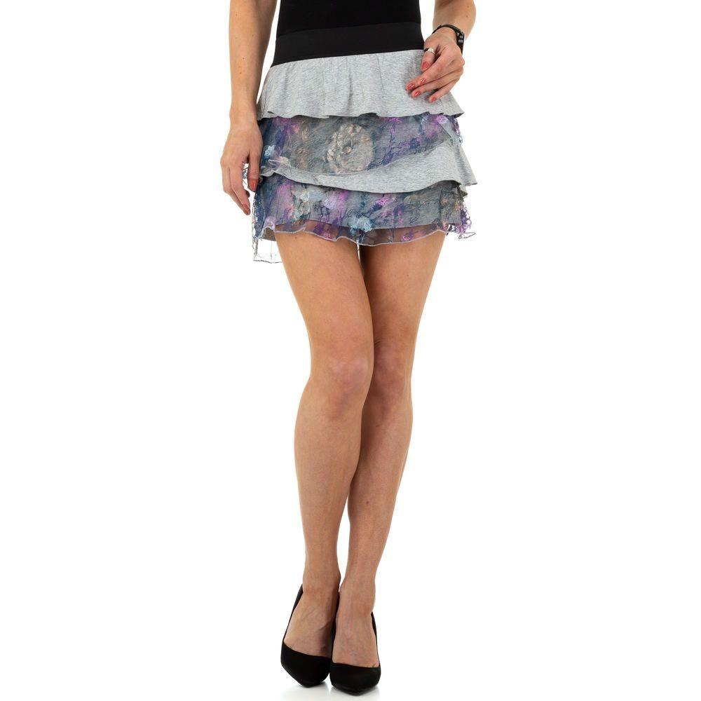 Dámská mini sukně s volánky - XL/XXL EU shd-su1046gr