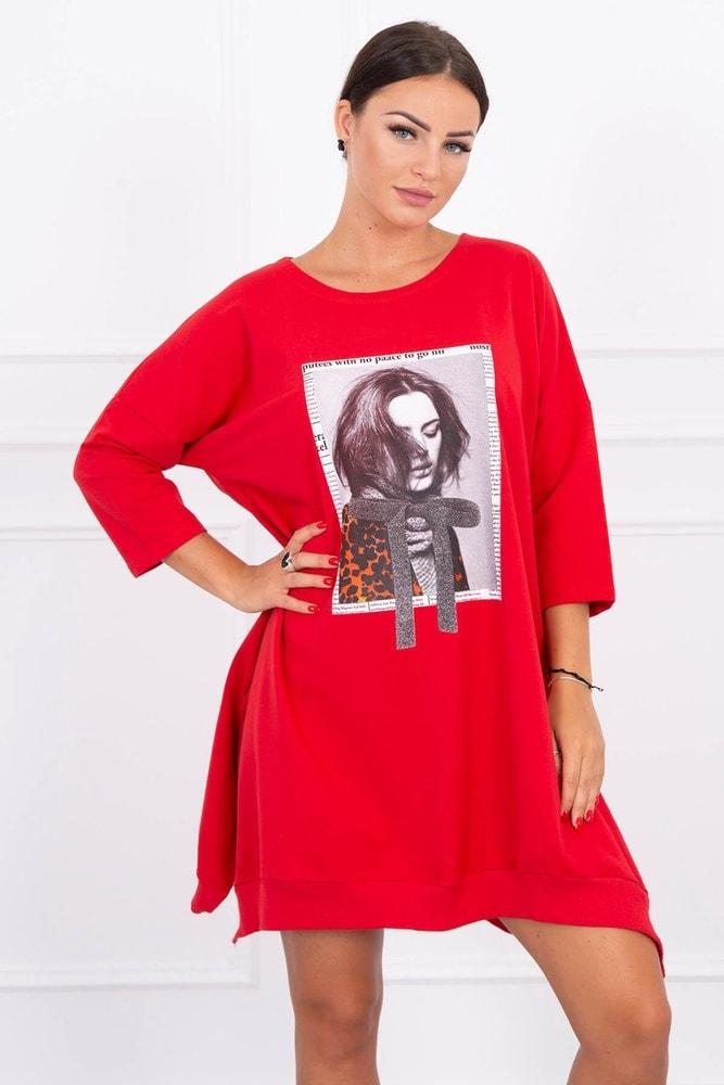 Mikinové šaty Kesi ks-sa9007re