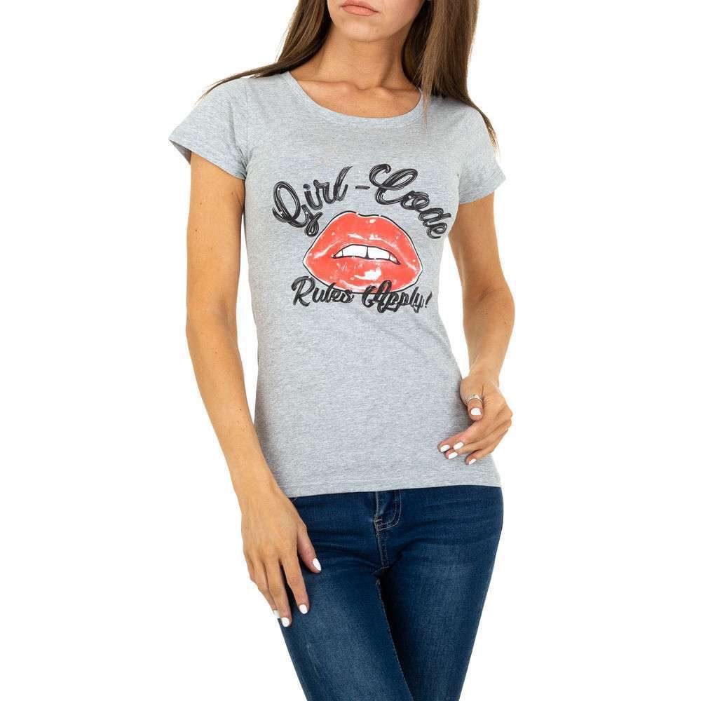 Dámské tričko s potiskem shd-tr1079gr