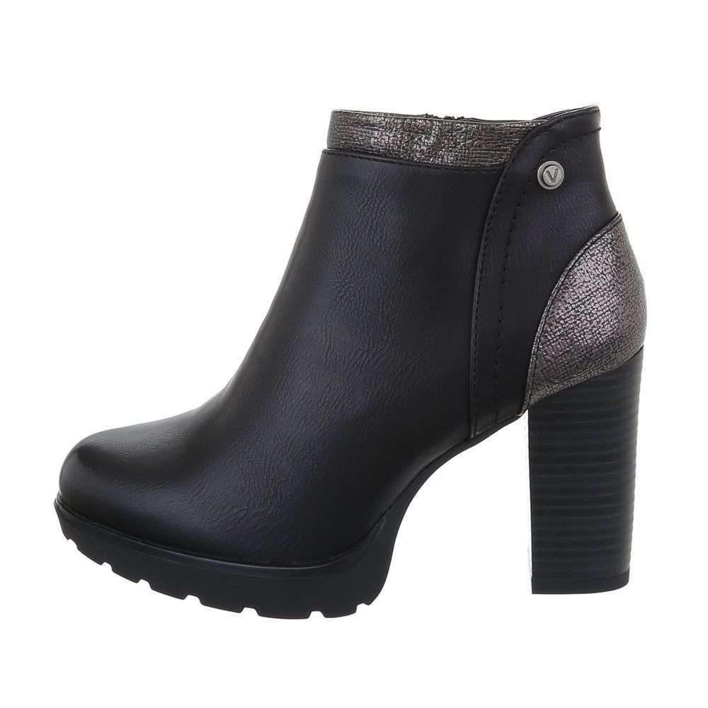 Členková obuv dámska - 39 EU shd-okk1365bl
