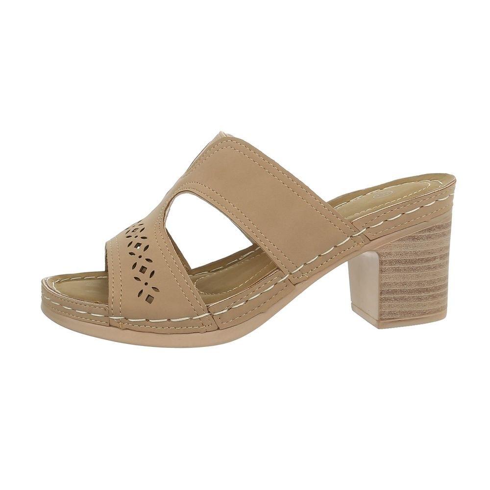 Dámske sandále na podpätku - 38 EU shd-osa1271be