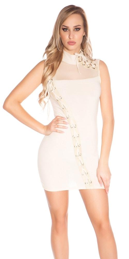 Mini šaty dámske - S/M Koucla in-sat1822be