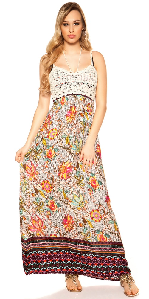 Dámske dlhé šaty Koucla in-sat2025wh