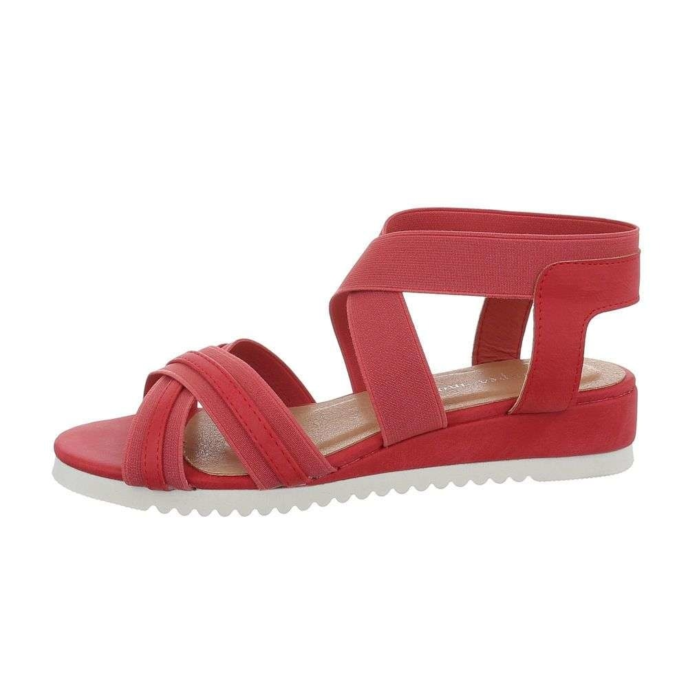 Červené letní sandálky - 39 EU shd-osa1388re