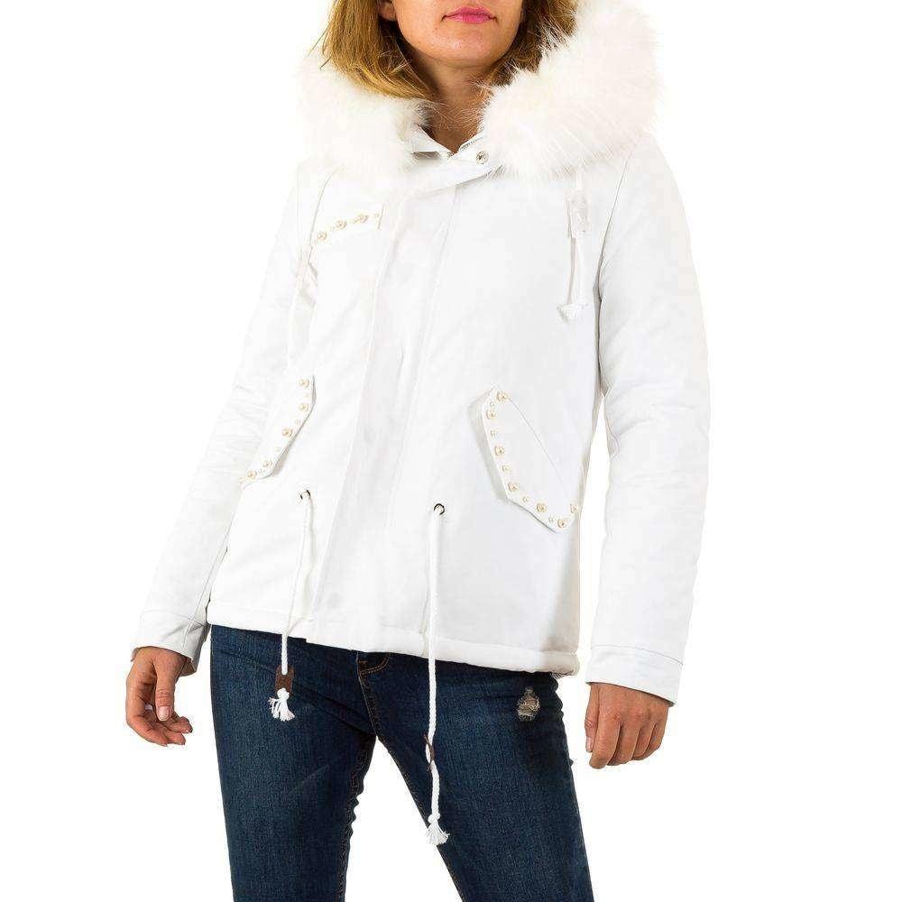 Biela zimná bunda - S shd-bu1011wh