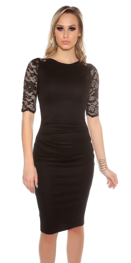 Puzdrové šaty - 40 Koucla in-sat1033bl