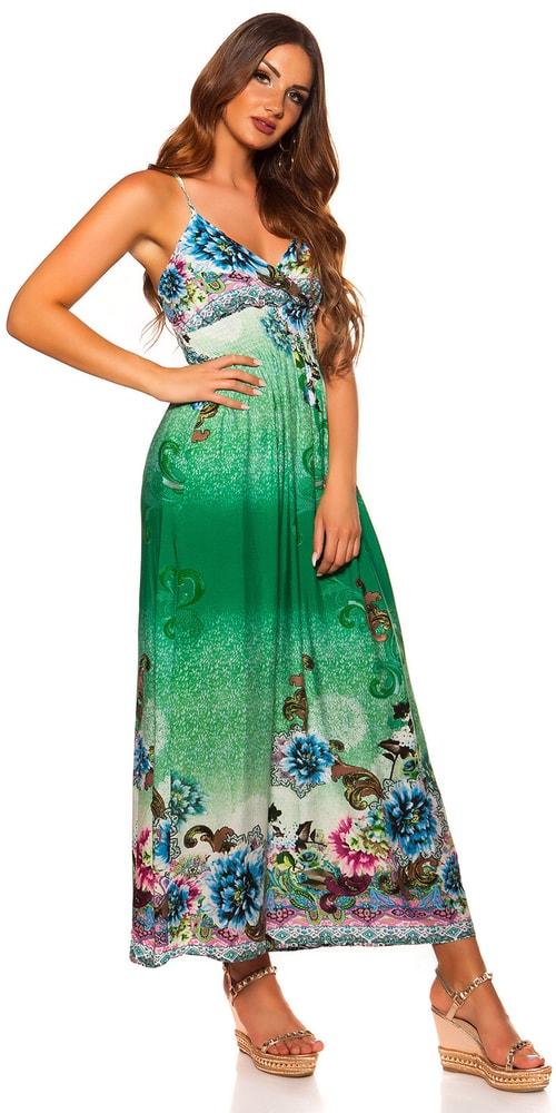 Dlouhé letní šaty Koucla in-sat2052ze