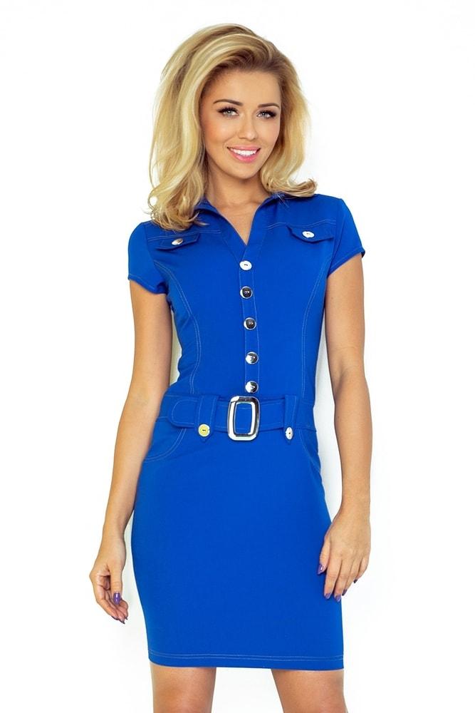 Modré dámske šaty Numoco nm-sat142mo