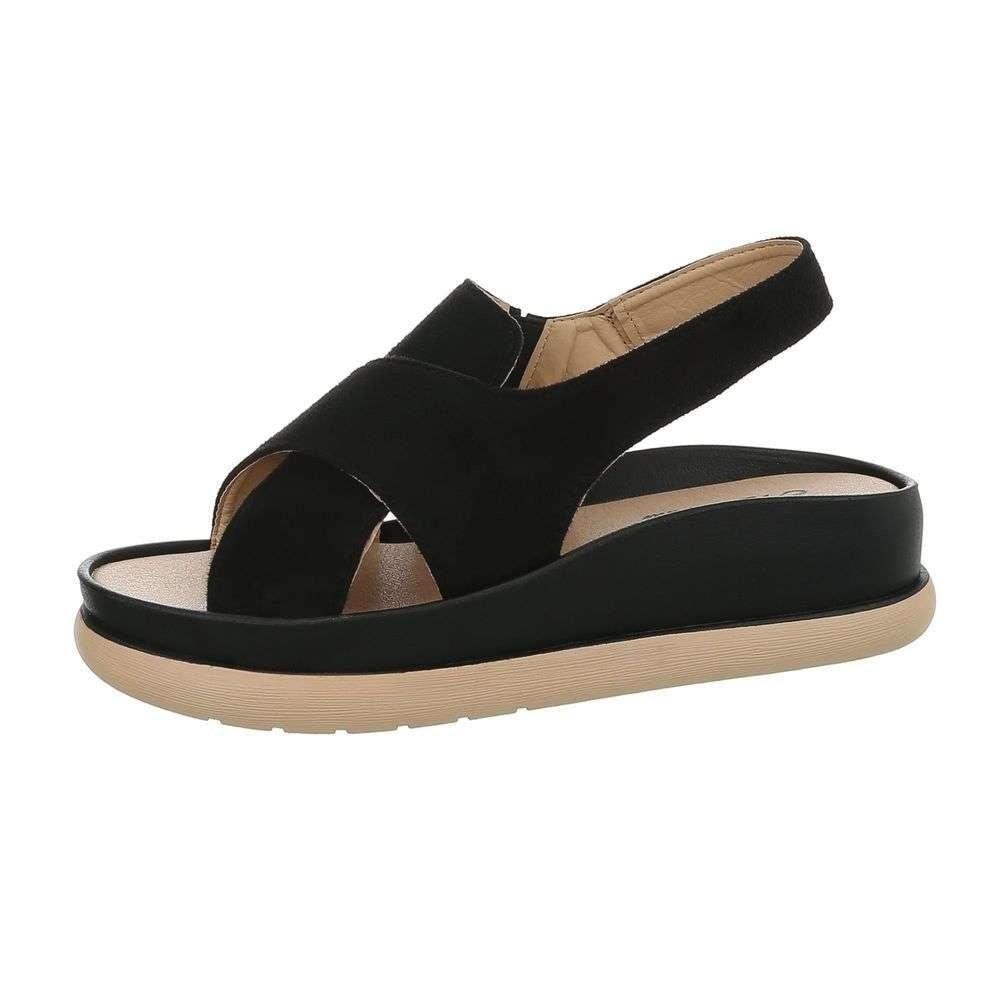 Čierne dámske letné sandále - 37 EU shd-osa1189bl