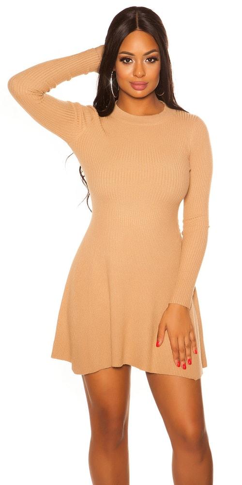 Dámské úpletové mini šaty Koucla in-sat2077be