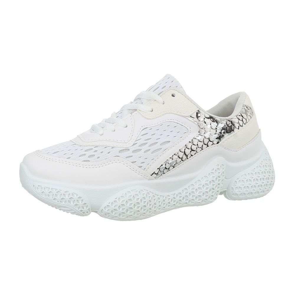 Dámské bílé tenisky EU shd-osn1088wh
