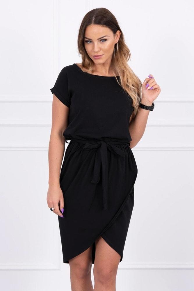 Čierne dámske šaty Kesi ks-sa8980bl