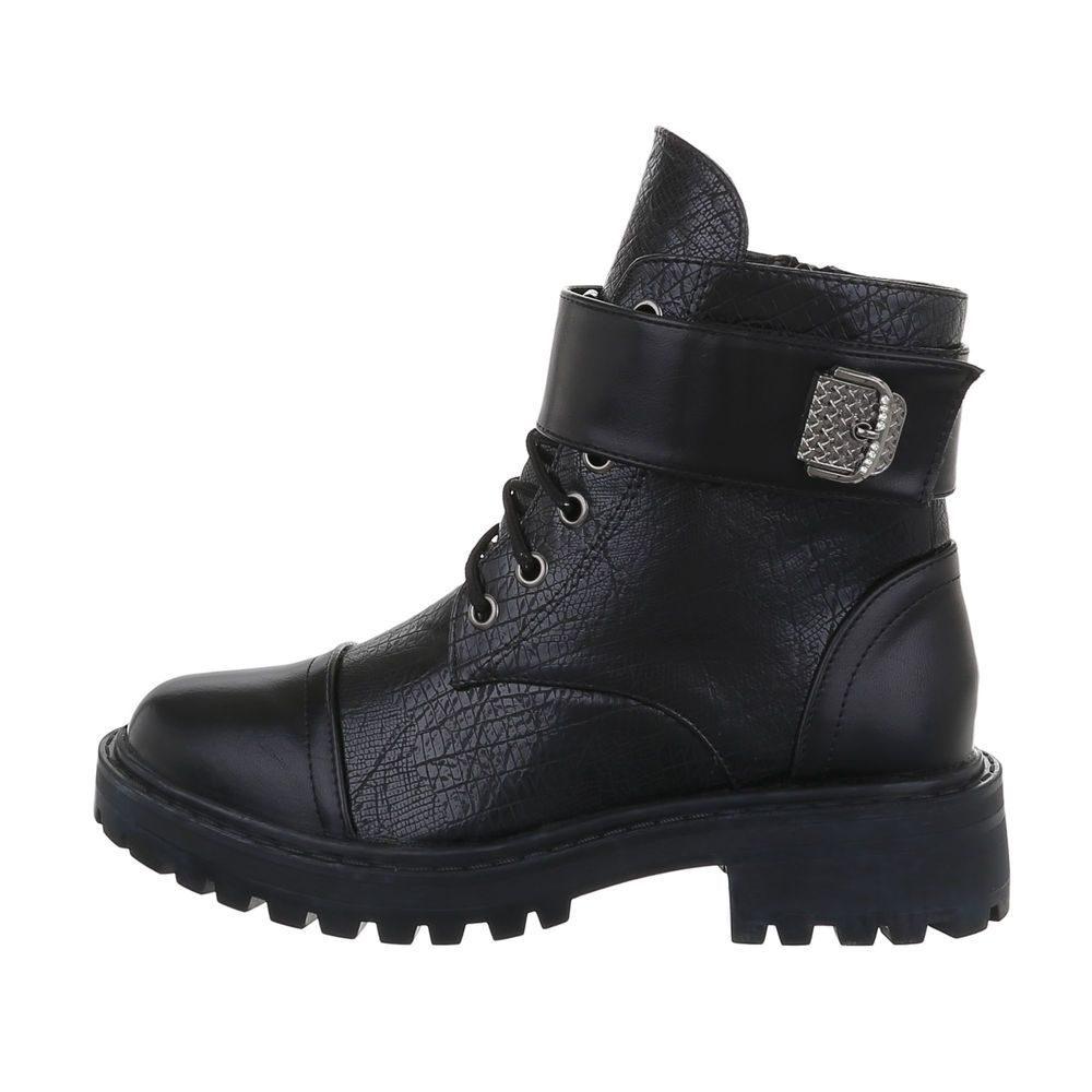 Dámske členkové topánky - 39 EU shd-okk1326bl
