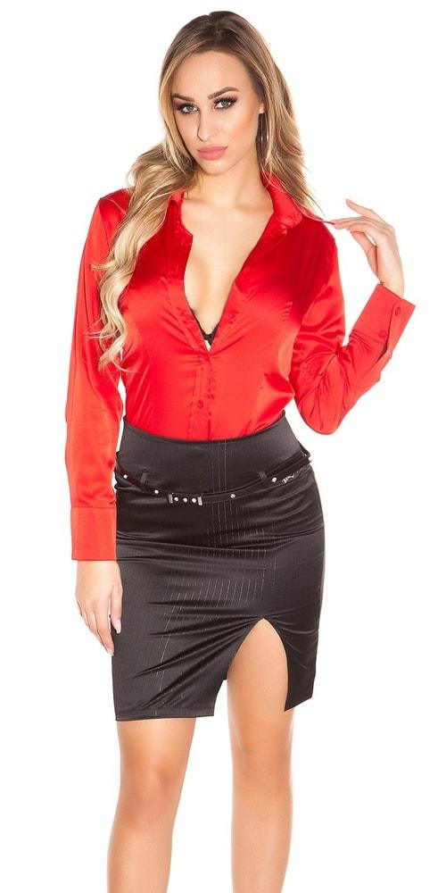 Elegantná dámska sukňa - 40 Koucla in-su1065bl