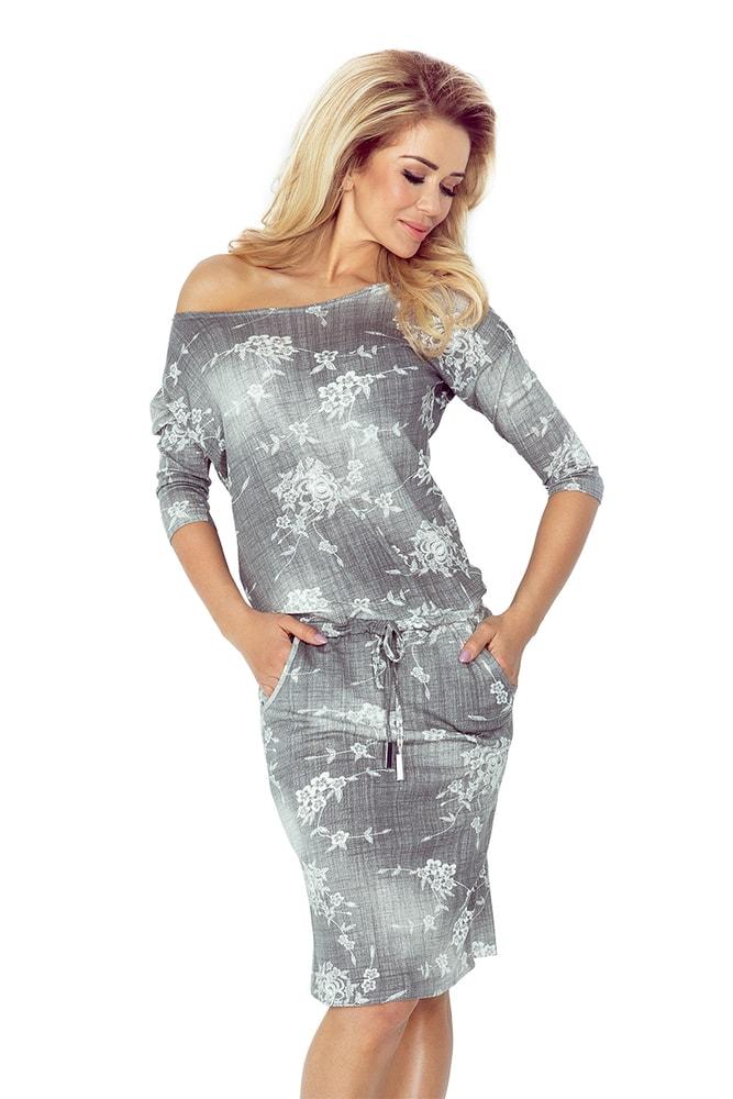 Voľnočasové dámske šaty Numoco nm-sat13-57