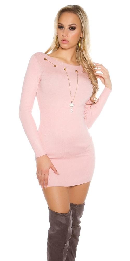 Úpletové dámske šaty Koucla in-sat1468spi