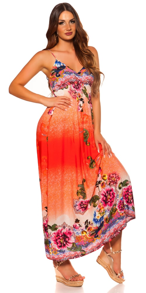 Dlouhé letní šaty Koucla in-sat2052or