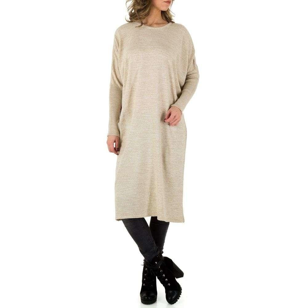 Denní šaty z úpletu EU shd-sat1001be
