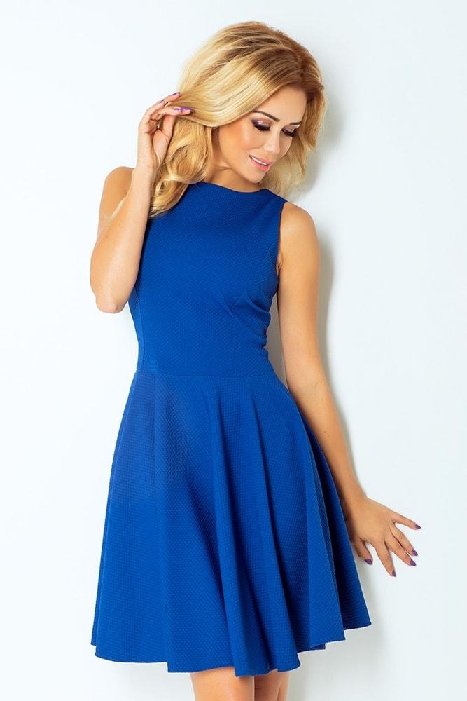 Dámske šaty modré 125-4 - L Numoco nm-sat125mo
