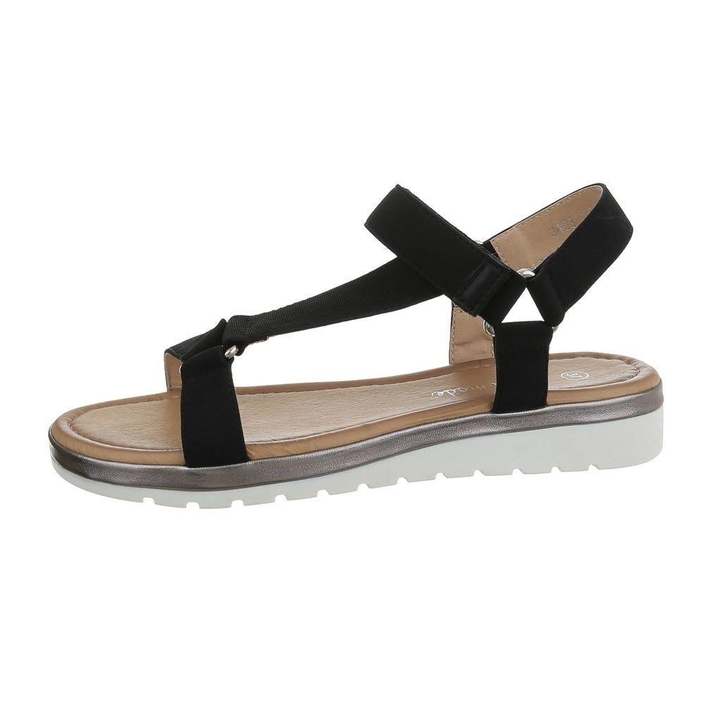 Dámske čierne sandále - 37 EU shd-osa1339bl