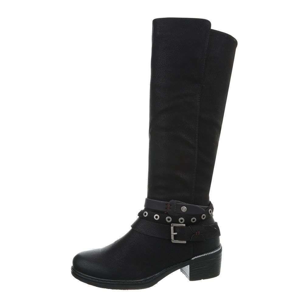 Čierne čižmy - 41 EU shd-oko1036bl