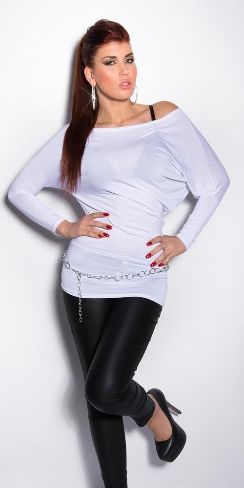 Biele tričko Koucla in-tr1010wh