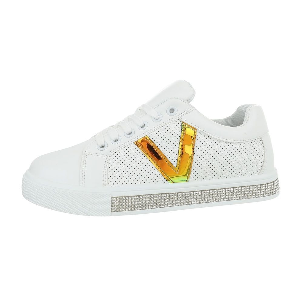 Dámske biele tenisky - 40 EU shd-osn1154go