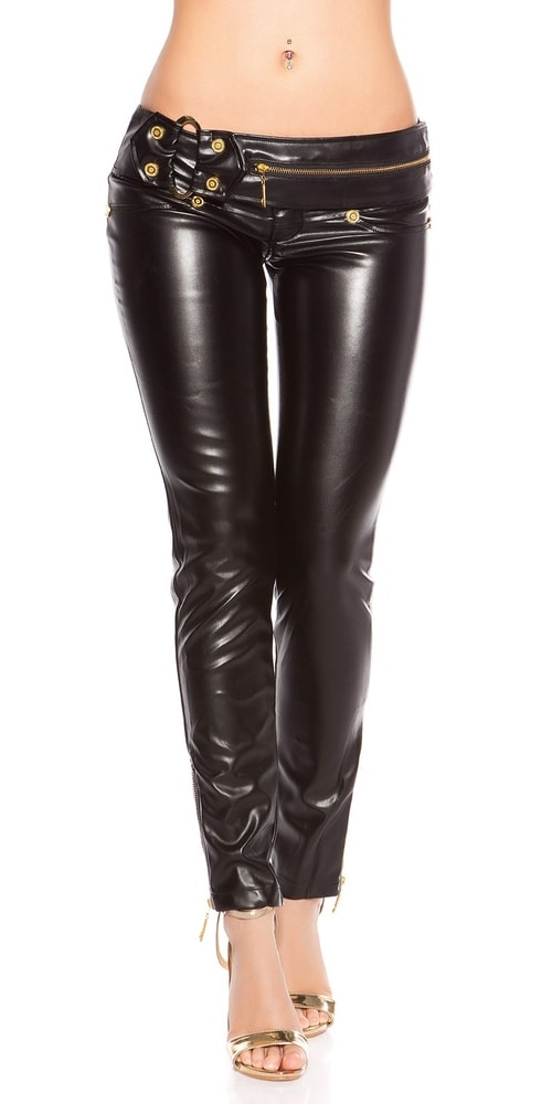 Dámske sexy nohavice - L Koucla in-ka1225bl