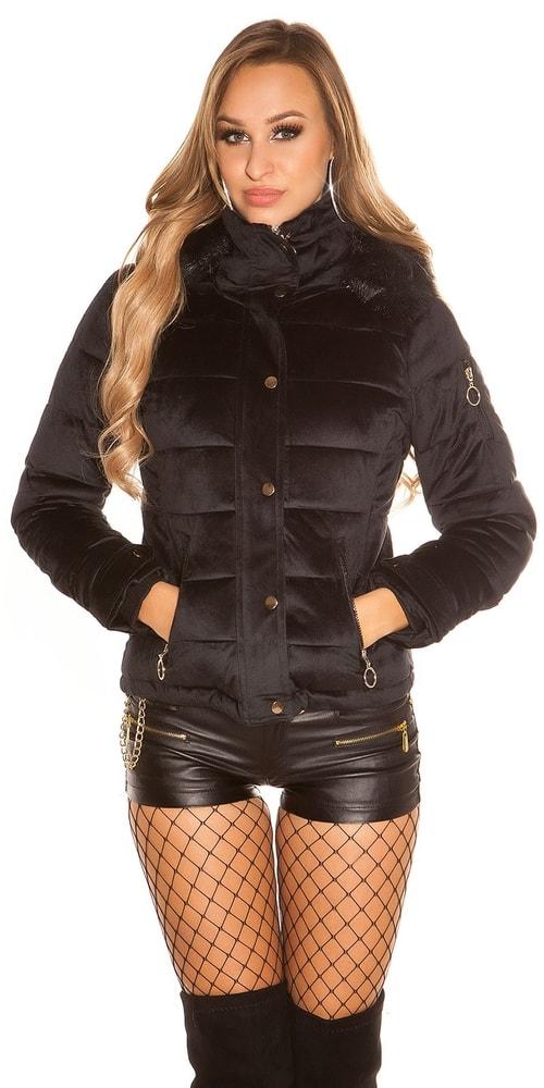 Dámska zimná bunda Koucla in-bu1018bl