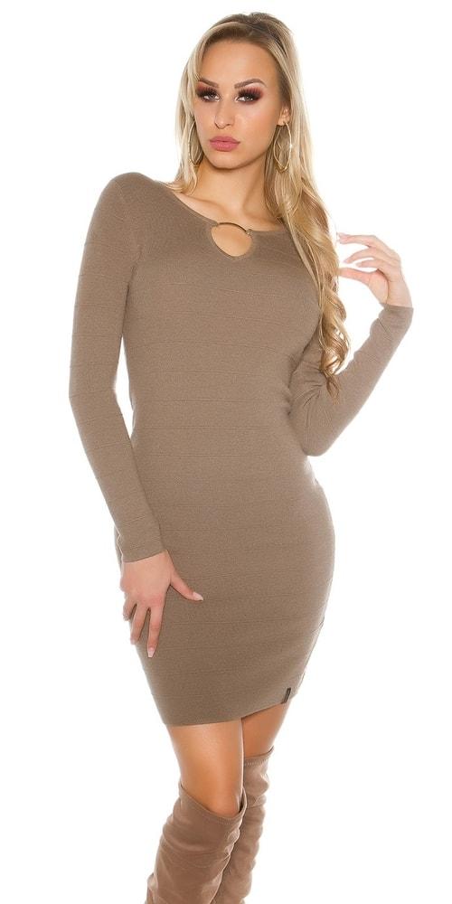 Dámske úpletové šaty Koucla in-sat1414ca