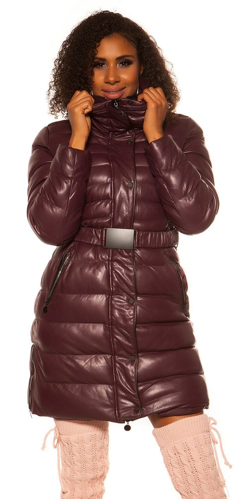 Zimná dlhšia bunda - XL Koucla in-bu1041bo