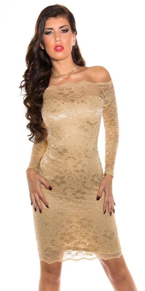 Čipkované spoločenské šaty - 40 Koucla in-sat1035be