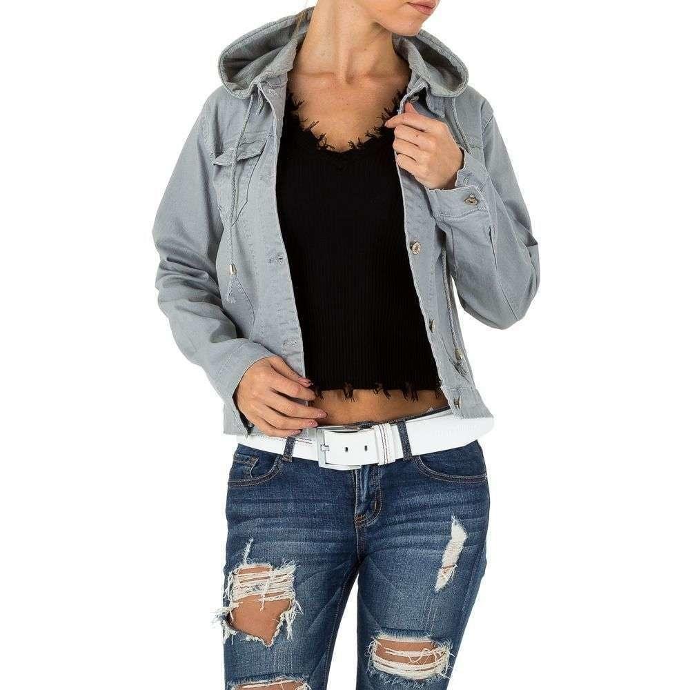 Dámská džínová bunda EU shd-bu1060gr