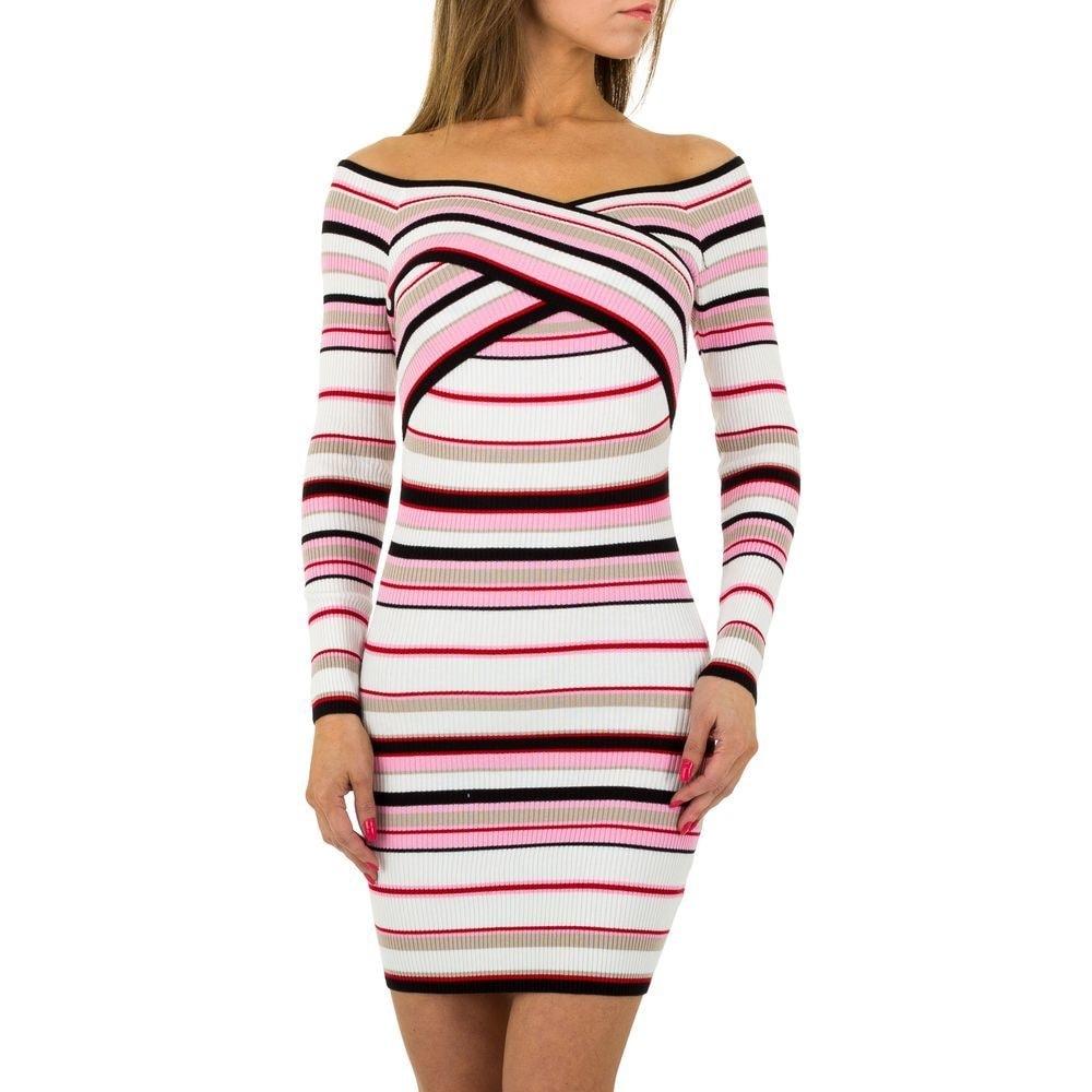 Úpletové mini šaty EU shd-sat1071spi