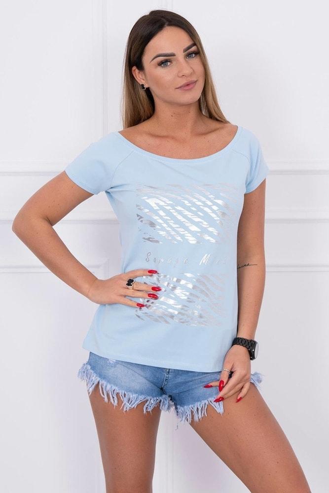 Dámske tričko s potlačou Kesi ks-tr61128smo