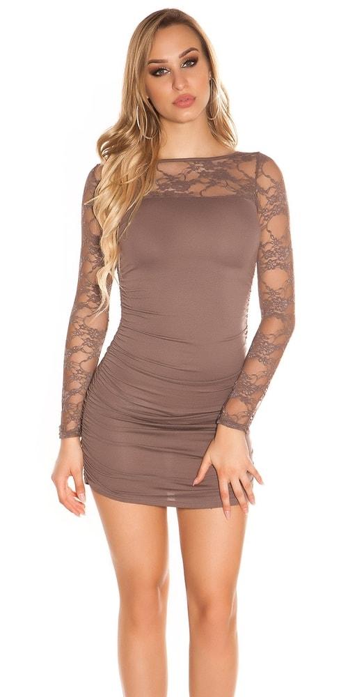 Dámske mini šaty s čipkou Koucla in-sat1059ca