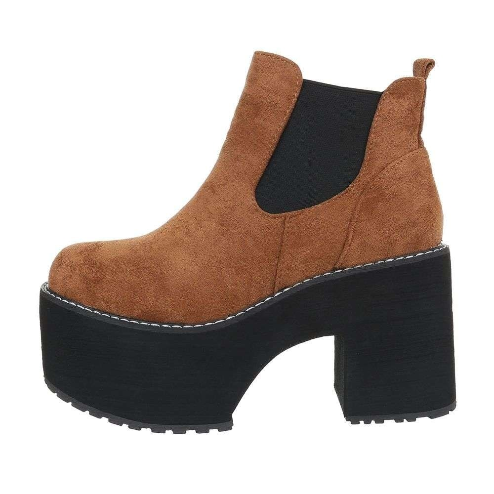 Kotníkové boty na platformě - 39 EU shd-okk1165ca