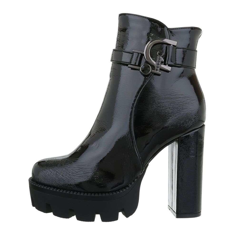 Kotníková obuv na vysokém podpatku - 39 EU shd-okk1184bl