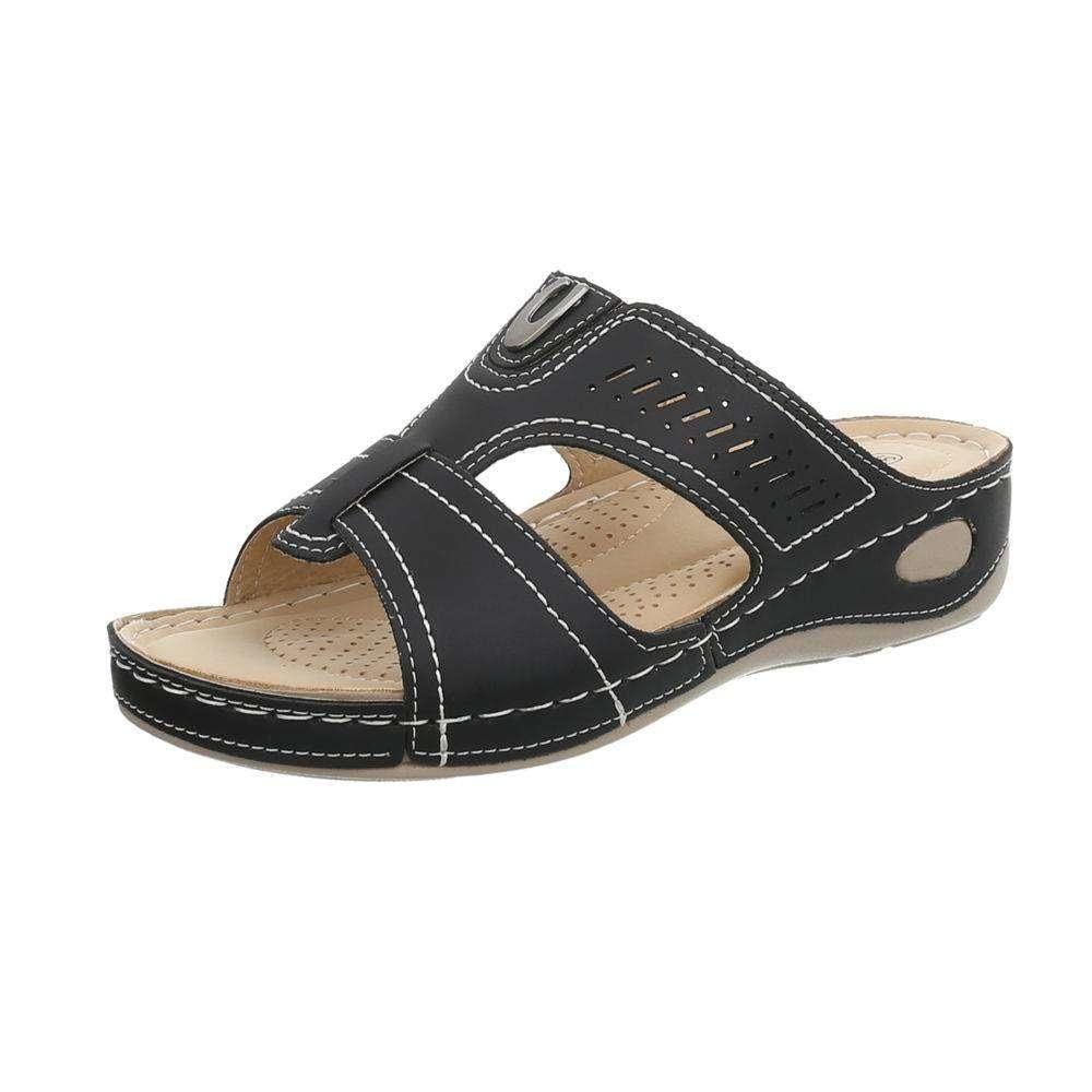 Dámske zdravotné papuče EU shd-osa1274bl