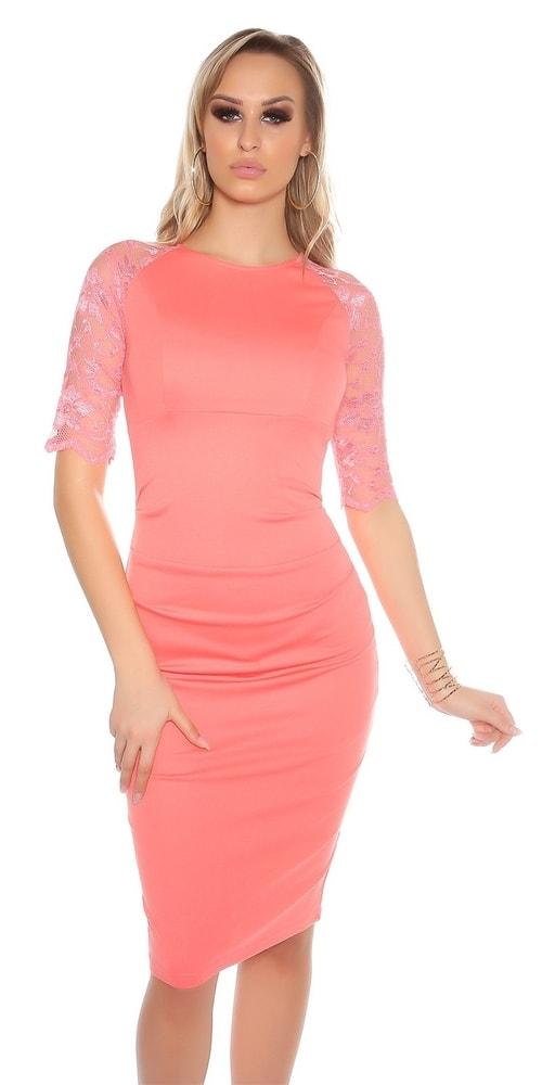 Elegantné puzdrové šaty - 38 Koucla in-sat1033ko