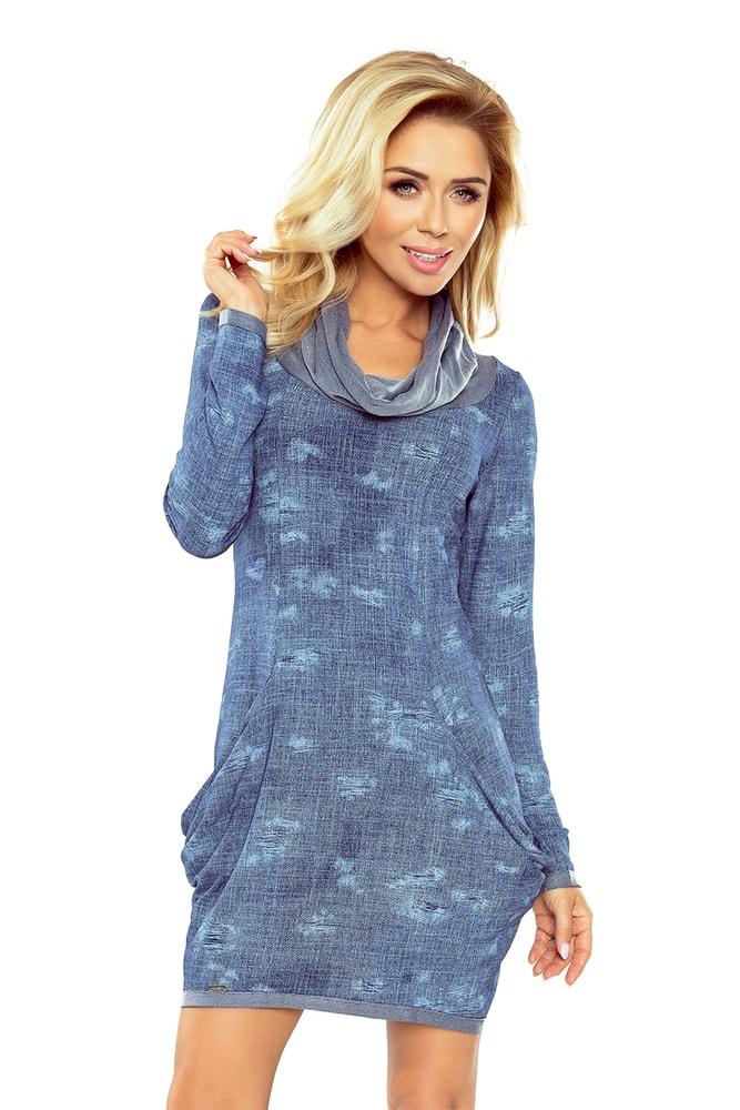 Dámské šaty s potiskem 135-5 - S Numoco nm-sat135-5