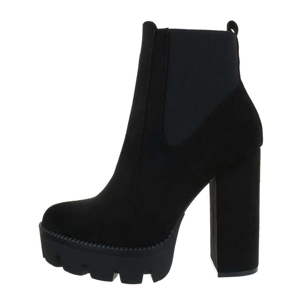 Kotníková obuv na podpatku - 39 EU shd-okk1187bl