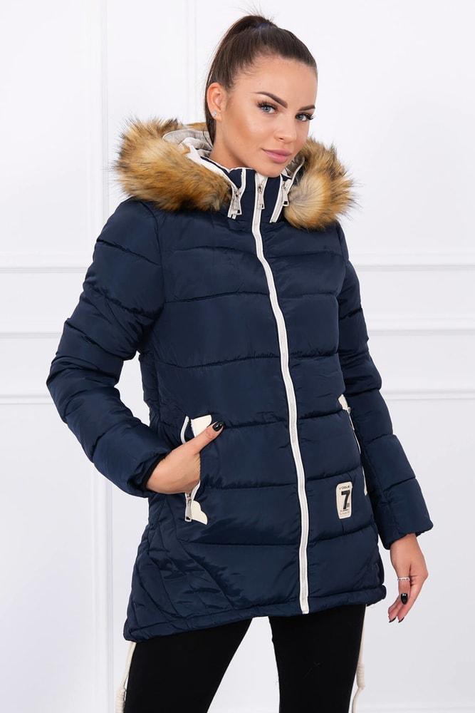 Zimná dámska bunda - L Kesi ks-bu9857tm
