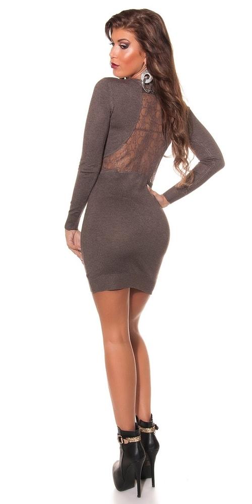 Úpletové dámské šaty Koucla in-sat1577hn