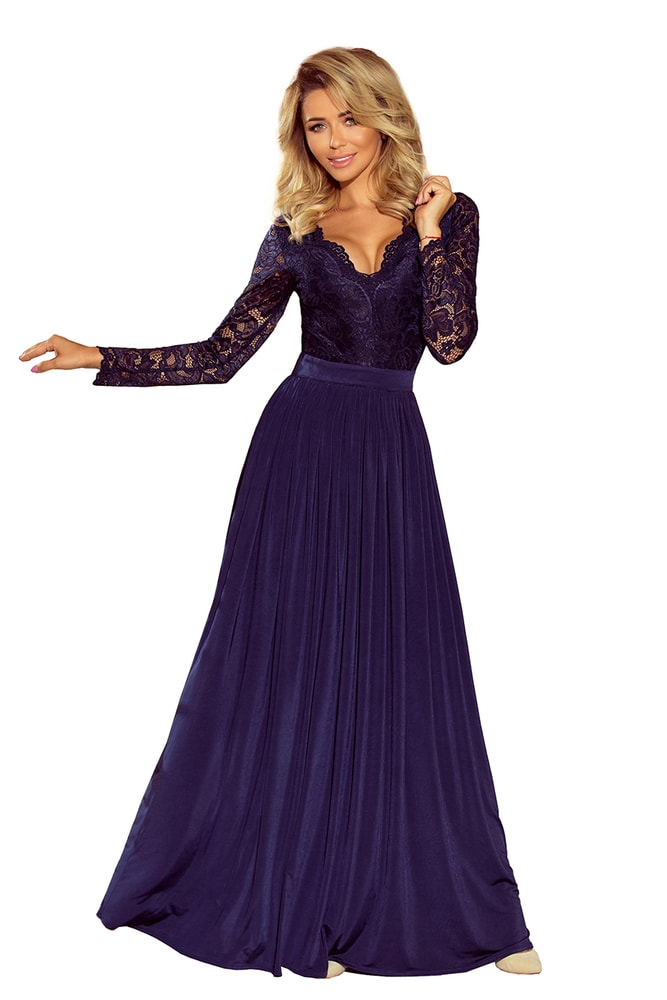 Dlhé plesové šaty - XL Numoco nm-sat214-1